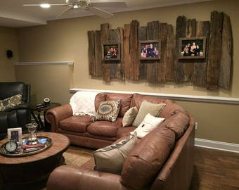 Barn wood huge wall display chose how many boards you want we fix them to mount on your wall, 50 to 100 year old wood