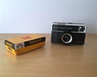 Vintage Kodak 56X Instamtic Camera- New in Box- With Film- 1970's