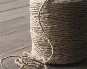 Jute twine 100 yards -full spool- rustic gift wrapping, embellishment, farmhouse chic packaging