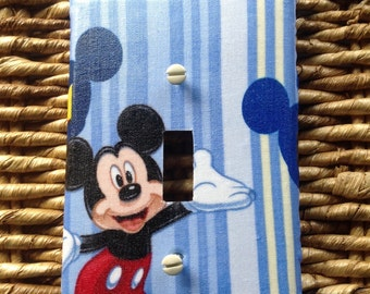 Mickey Mouse switch plates