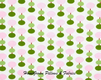 HALF YARD - Tanya Whelan Fabric SALE - Sugar Hill Collection, Lantern in Ivory polka dots