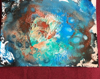 Under the Sea Acrylic Painting