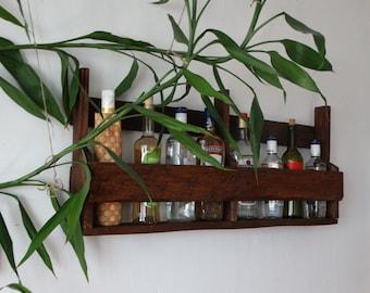 Wine shelf,wine holder,home bar furniture,house bar,in home bar,home mini bar,wooden wine racks,wine storage racks,wall wine rack  Magic nut
