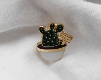 Cute cactus pin