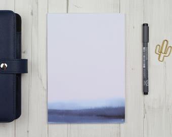 "Notepad ""watercolor blue"" - A5 - 50 sheets"