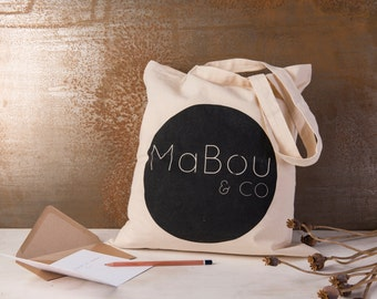 Bag. Cotton. Shopper. Tote bag 100% Cotton. Shopping Tote bag. Happy Shopper Carry bag Mabou and Co Tote Handy shopper Tote bag carry bag