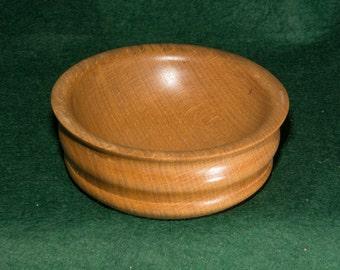 Wooden Beech wood Bowl, handmade no 78