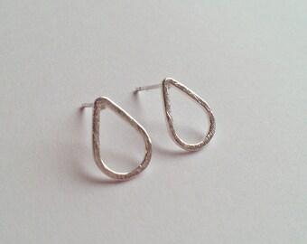 Filigree Earrings SILVER minimal jewelry