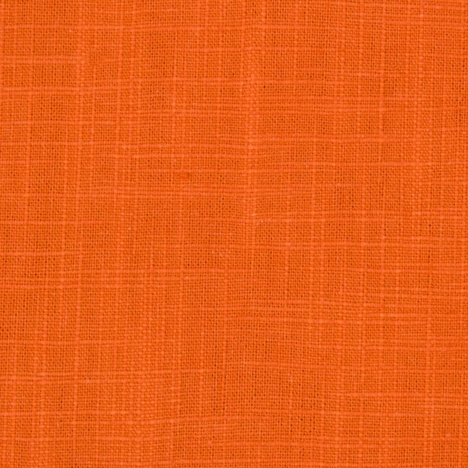 On sale orange cotton slub upholstery fabric for Upholstery fabric for sale