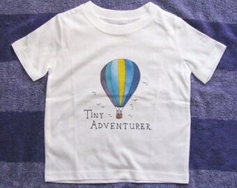 Cute Kids Clothes, Cute Toddler Clothes, Unique Kids Clothes, Holiday Gift, Steampunk kids clothes, Hot air balloon shirt