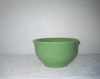 Gibson Green Serving Bowl - Vintage Gibson Dinnerware - Green Gibson Dinnerware