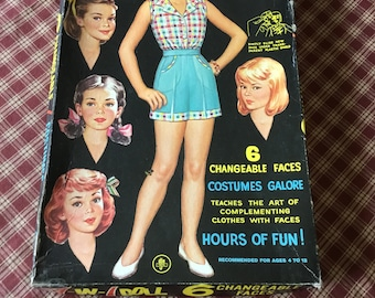 7 in 1 Paper Doll