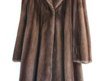 Ladies Mink Swing Coat