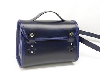 Leather Messenger Purse Crossbody