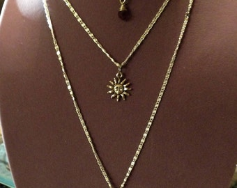 Tri-Layer Necklace