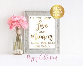 Wedding Macaron Favor Sign, Wedding Favor Sign, Wedding Reception Sign, Wedding Reception, Party Favor Sign, Favor Sign