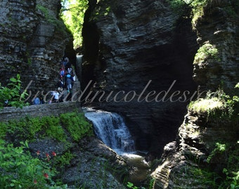 Watkins Glen, Waterfall, State Park, New York