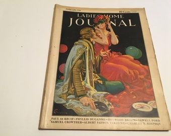 february 1930 ladie's home journal magazine