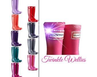 Crystal Hunter Rain Boots