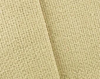 Cream Santa Ana Basket Weave Decorating Fabric, Fabric By The Yard