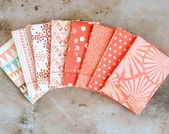 Assorted Pink Matchbook Notebooks, Mini Notebooks, Mini Notepads, Notepads, Pocket Notepad, Floral Notebook, Matchbook Favors, Party Favors