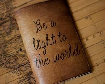 Passport cover, leather, Passport holder, Personalized, Custom design, star