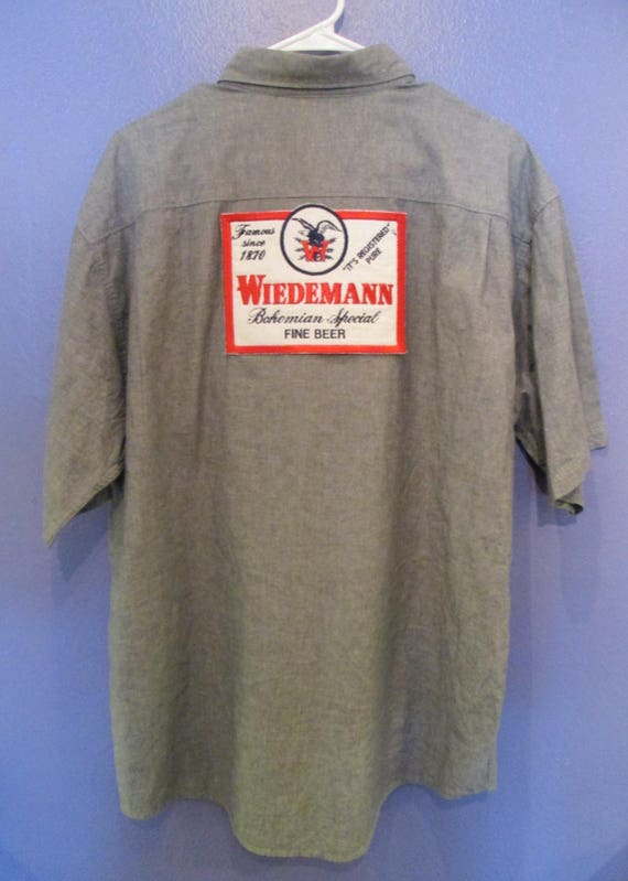 Men's Genesee Button-Down Beer Shirt Size L aRO1yURR3a