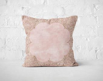 down dusty pink pillows p ruffled pillow throw