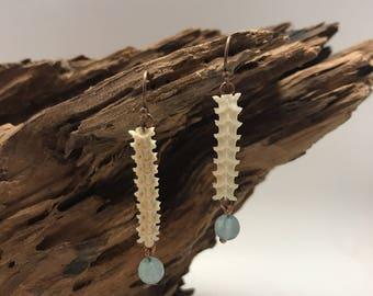 Snake Vetrebrae Earrings
