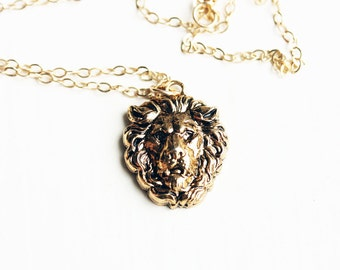 Cecil The Lion Necklace - All Profits Donated to Wildlife CRU