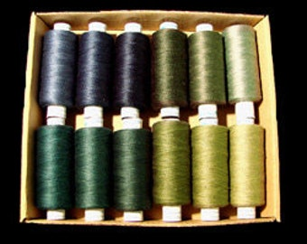 Valdani Quilting Threads - As Time Goes By Set 3 - 50 wt.