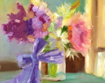 Spring Bouquet Print (Full Frame)