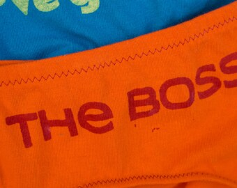 The Boss - Women's Underwear - Made to Order