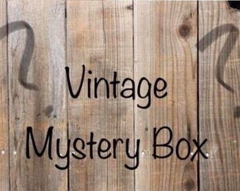 Vintage mystery box