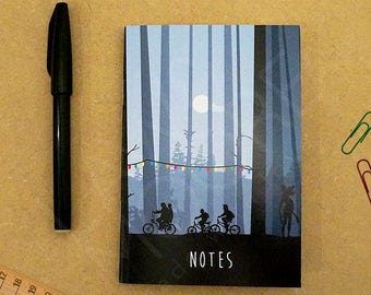 Stranger Things A6 Pocket Notebook (10.5 x 14.8 cm), Movie Stationary, Pocket Notebook, Stationary