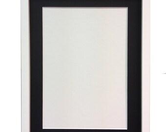 A4 white box frame