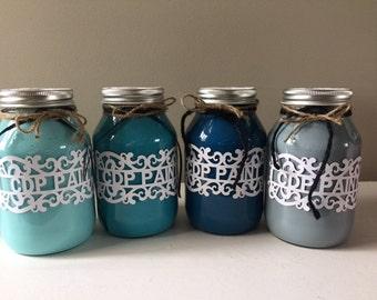 Blue Chalk Paint-Hand Mixed Chalk Paint- Superior Chalk Paint- Vintage/ Distressed Paint-Furniture Chalk Paint, Shabby Chic Paint, Quart