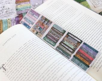 Book Stack Bookmark