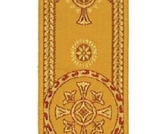 Religious trim for liturgical vestments color gold