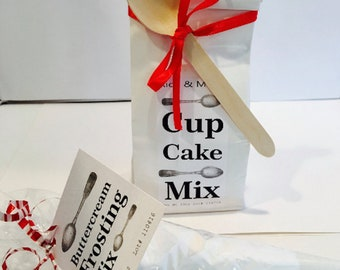 Cupcake and Buttercream Frosting Mix - Tin Tie/Cone Bag