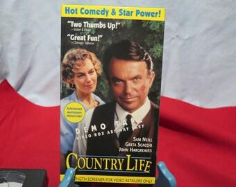 Country Life VHS Sam Neill, Greta Scacchi