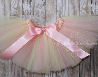 Pink Lemonade Tutu- Tutu- Birthday- Princess Tutu- Baby Tutu- Newborn Tutu- Infant Tutu- Toddler Tutu- 1st Birthday Tutu- Cake Smash Outfit