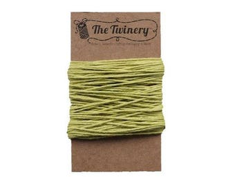 Green Bakers Twine - Solid Honeydew Chartreuse - 15 Yard Bundle