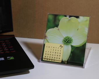 2018 CD Jewel Case Photo Desk Calendar