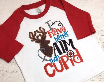 Boy's Valentine Shirt,  Boys Raglan shirt, Valentine shirt for boys, Boys Valentines Day Shirt, Kids Valentines,  Valentines Day Baby Outfit
