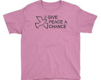 Youth Give Peace A Chance T-Shirt Lennon