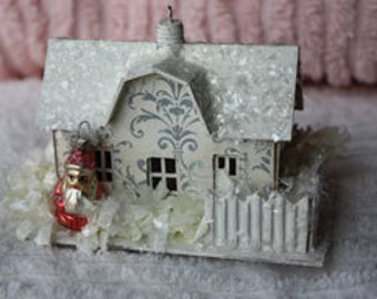 Little Farmhouse ornaments set of 6  ON SALE was 3.50 each