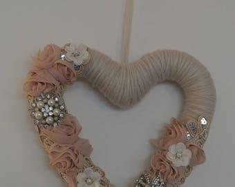 Wedding hanging heart