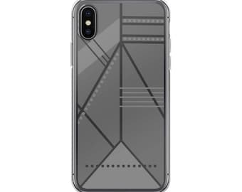 Shades Of Gray iPhone Case, Geometric, iPhone X Case, iPhone 8 Plus Case, iPhone 7 Plus Case, iPhone 7 Case, iPhone 6 6s Case, iPhone 8 Case