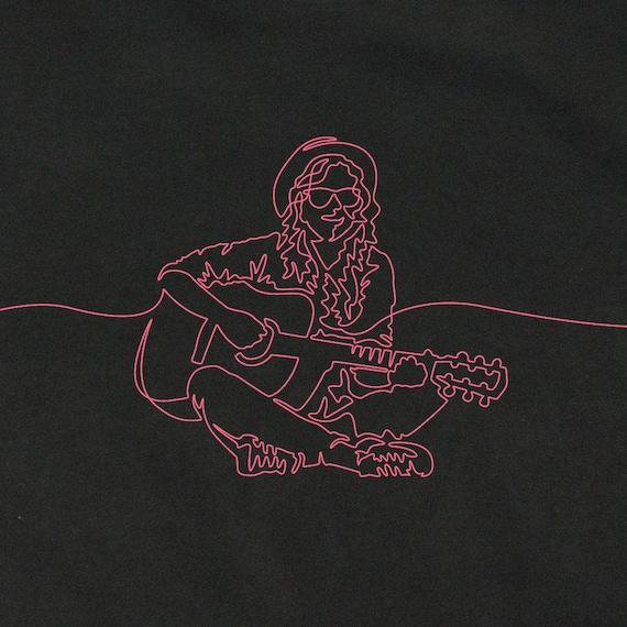 Women's Guitarist T-Shirt, Gift for Woman Guitarist, Guitarist T-Shirt, Guitarist Gift, Graphic Girl's T-Shirts, Artful T-Shirts, Guitar Art